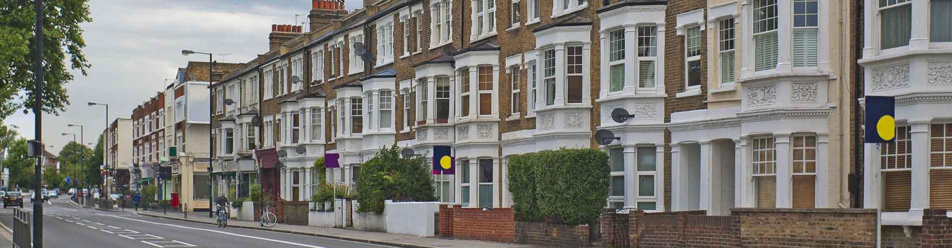 Londres - Habitaciones en el distrito Fulham. Mapas de Londres, Fotos y comentarios de cada Habitación en Londres.