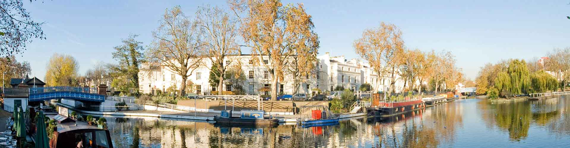 Londres - Habitaciones en el distrito Little Venice. Mapas de Londres, Fotos y comentarios de cada Habitación en Londres.