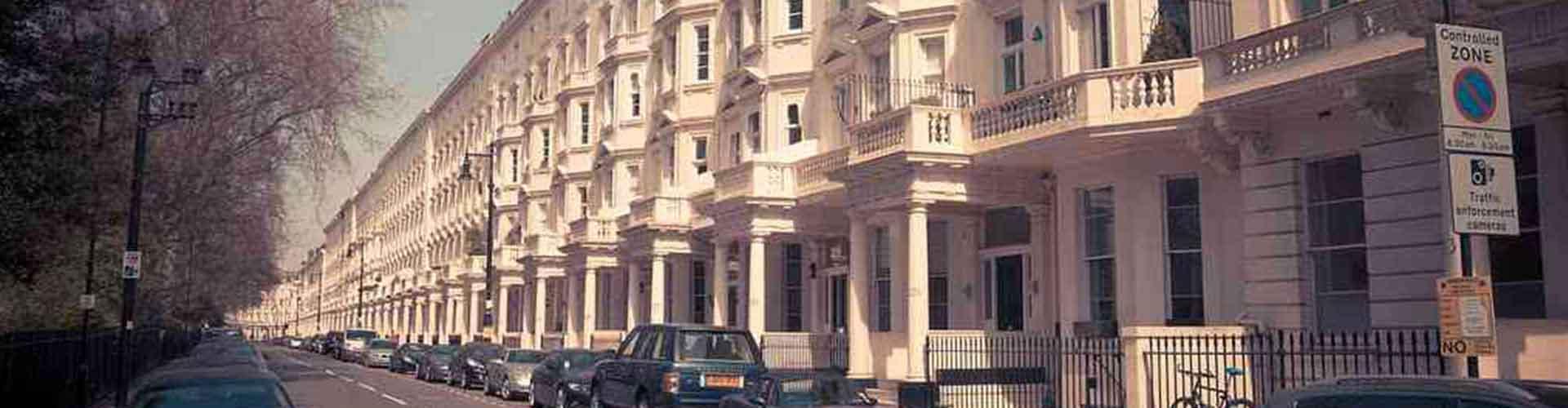 Londres - Hostales en el distrito Pimlico. Mapas de Londres, Fotos y comentarios de cada Hostal en Londres.