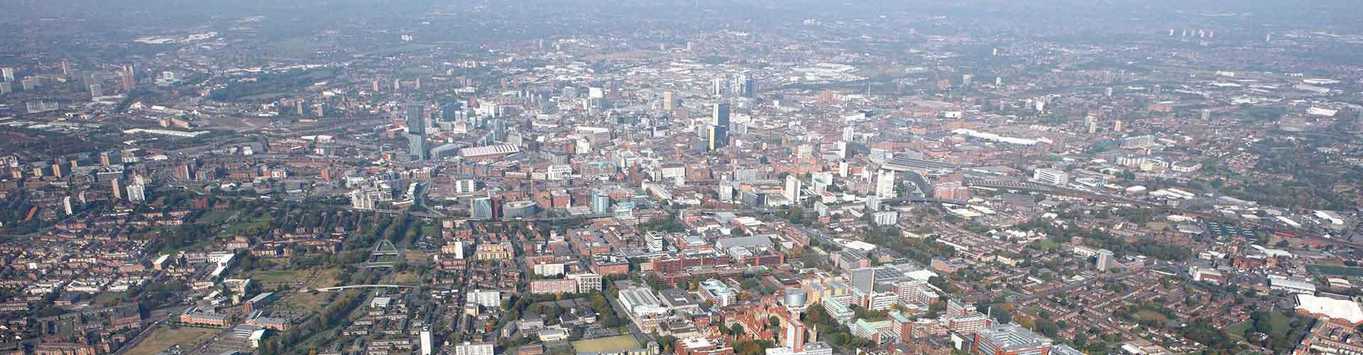 Manchester - Hostales en el distrito Norte de Manchester. Mapas de Manchester, Fotos y comentarios de cada Hostal en Manchester.