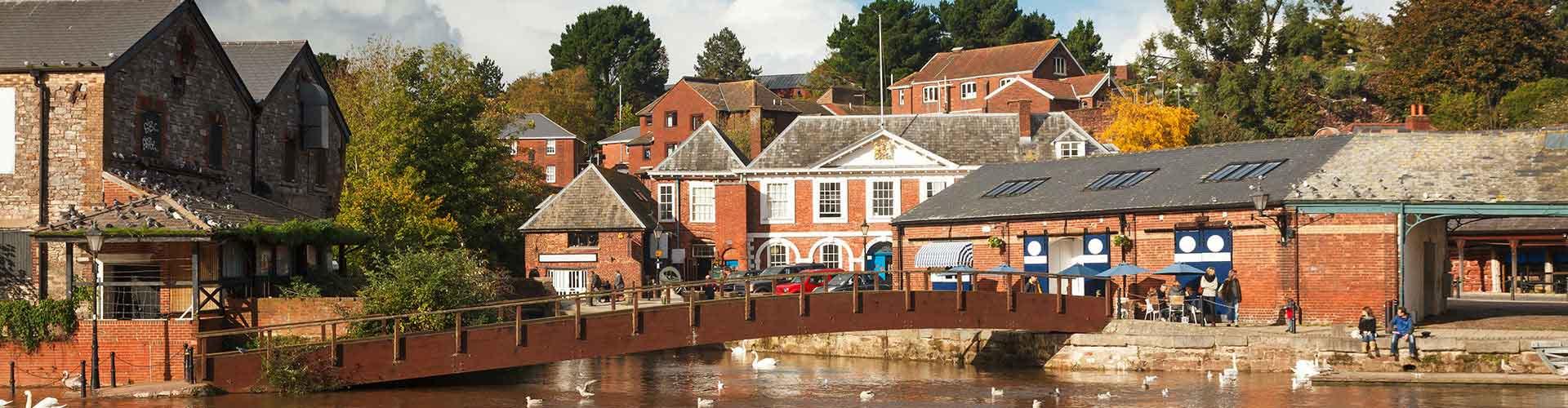Exeter - Hostales en Exeter. Mapas de Exeter, Fotos y comentarios de cada Hostal en Exeter.