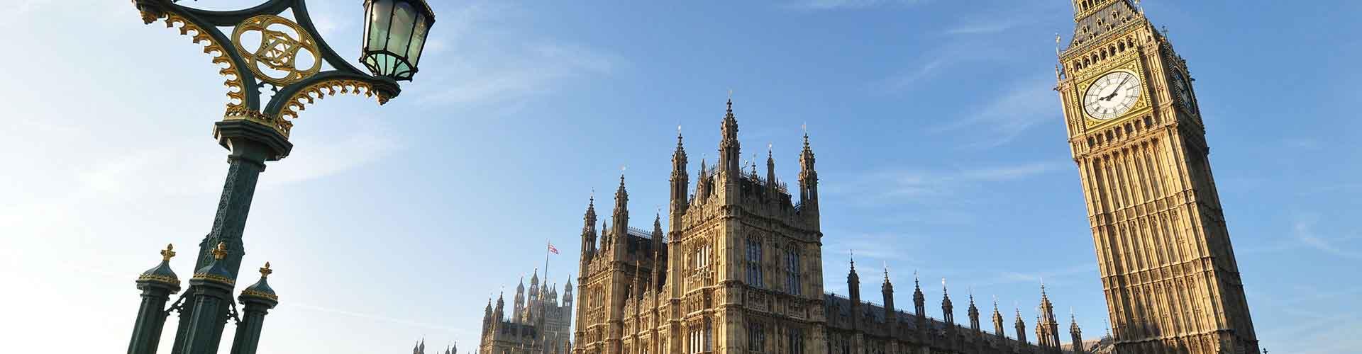Londres - Habitaciones cerca a Big Ben. Mapas de Londres, Fotos y comentarios de cada Habitación en Londres.