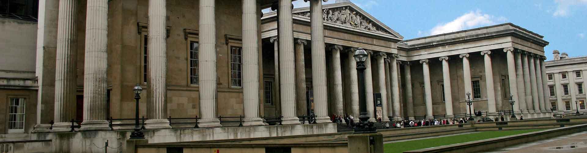 Londres - Hostales cerca a British Museum. Mapas de Londres, Fotos y comentarios de cada Hostal en Londres.