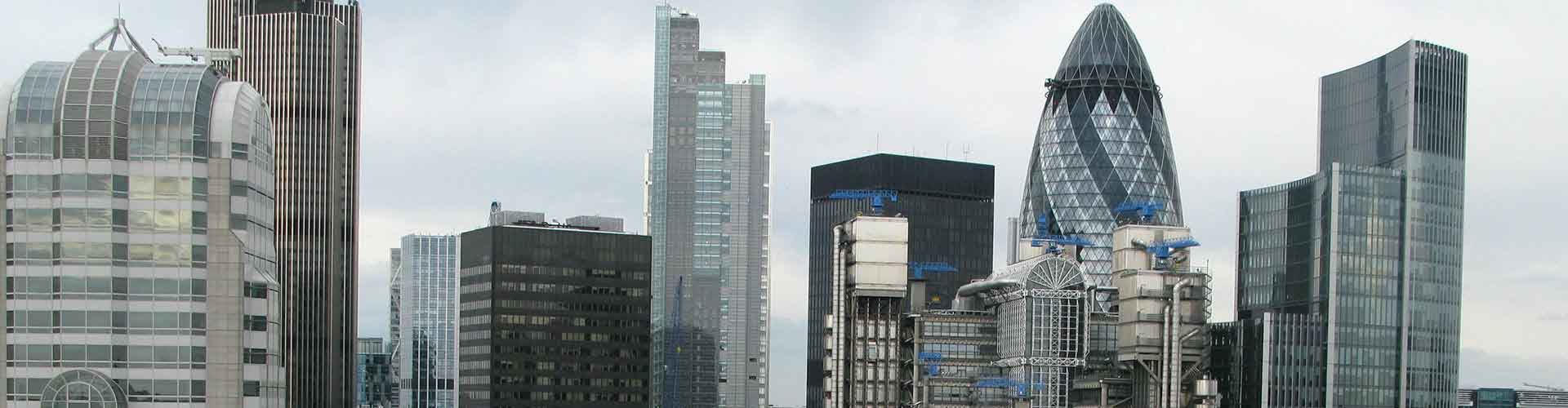 Londres - Habitaciones cerca a Lloyd's Building. Mapas de Londres, Fotos y comentarios de cada Habitación en Londres.
