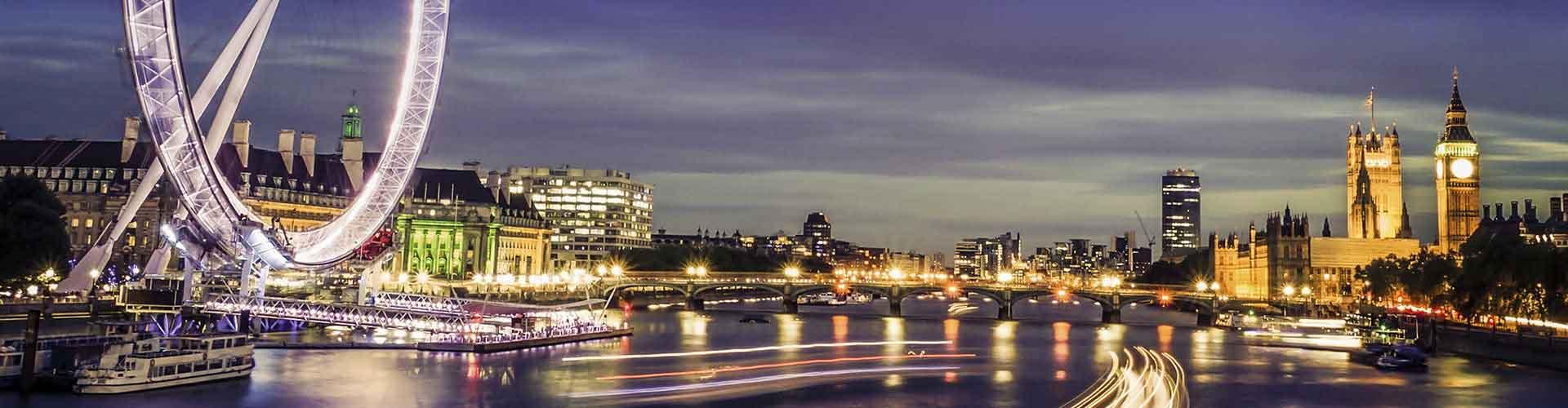 Londres - Habitaciones cerca a Ojo de Londres. Mapas de Londres, Fotos y comentarios de cada Habitación en Londres.
