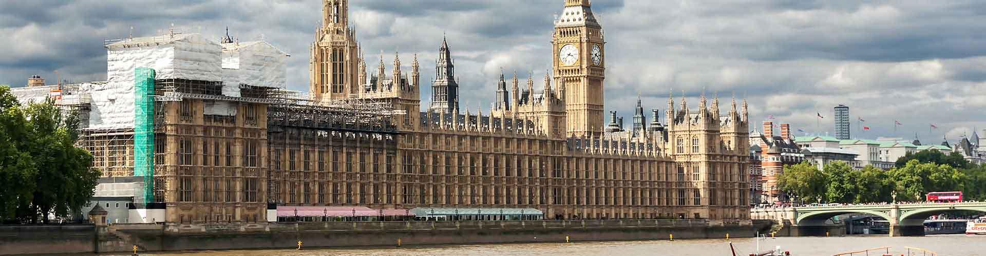 Londres - Apartamentos cerca a Palacio de Westminster. Mapas de Londres, Fotos y comentarios de cada Apartamento en Londres.