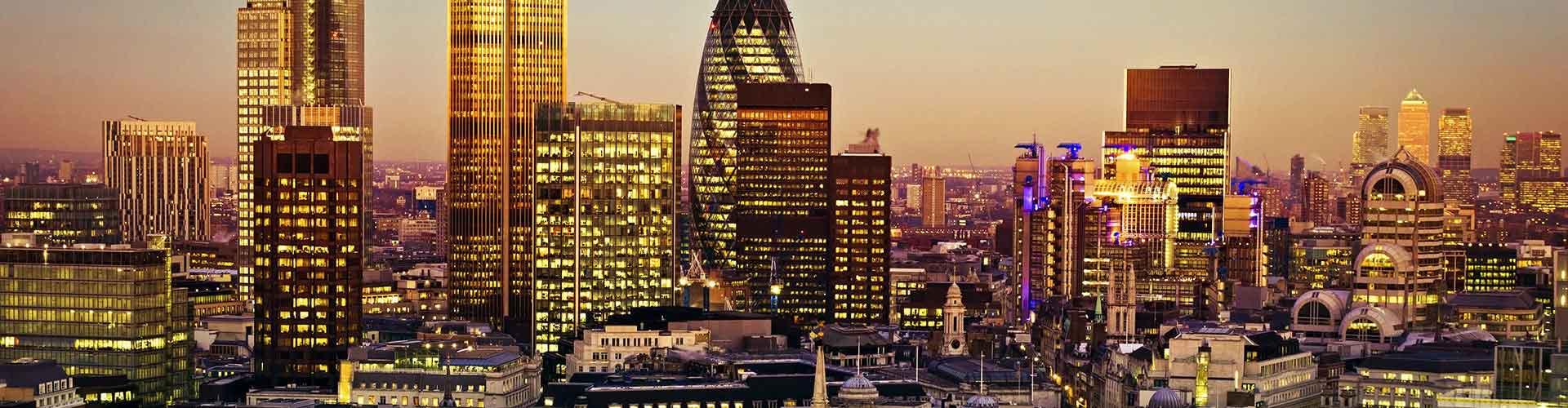 Londres - Hostales cerca a Torre 42. Mapas de Londres, Fotos y comentarios de cada Hostal en Londres.