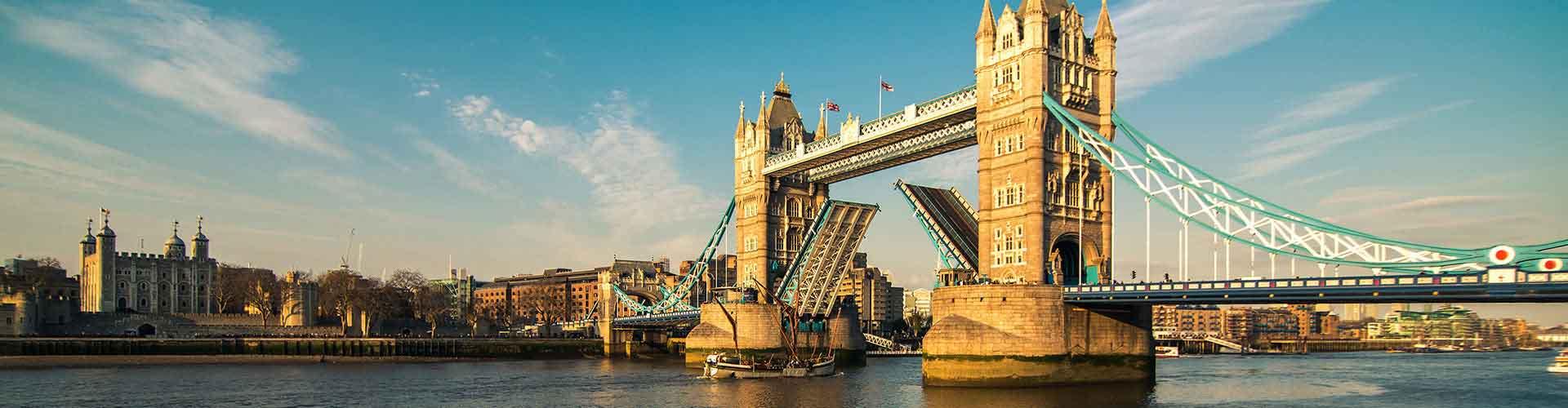 Londres - Hostales cerca a Puente de la Torre. Mapas de Londres, Fotos y comentarios de cada Hostal en Londres.