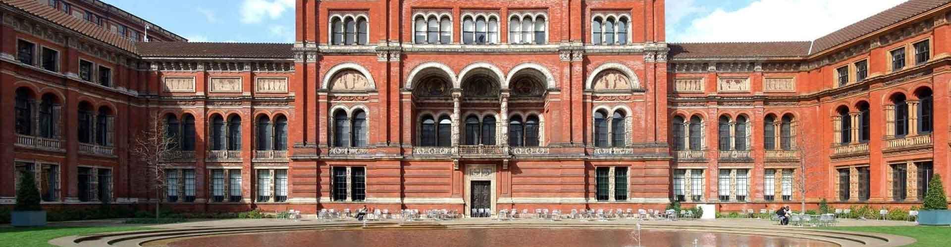 Londres - Habitaciones cerca a Victoria and Albert Museum. Mapas de Londres, Fotos y comentarios de cada Habitación en Londres.