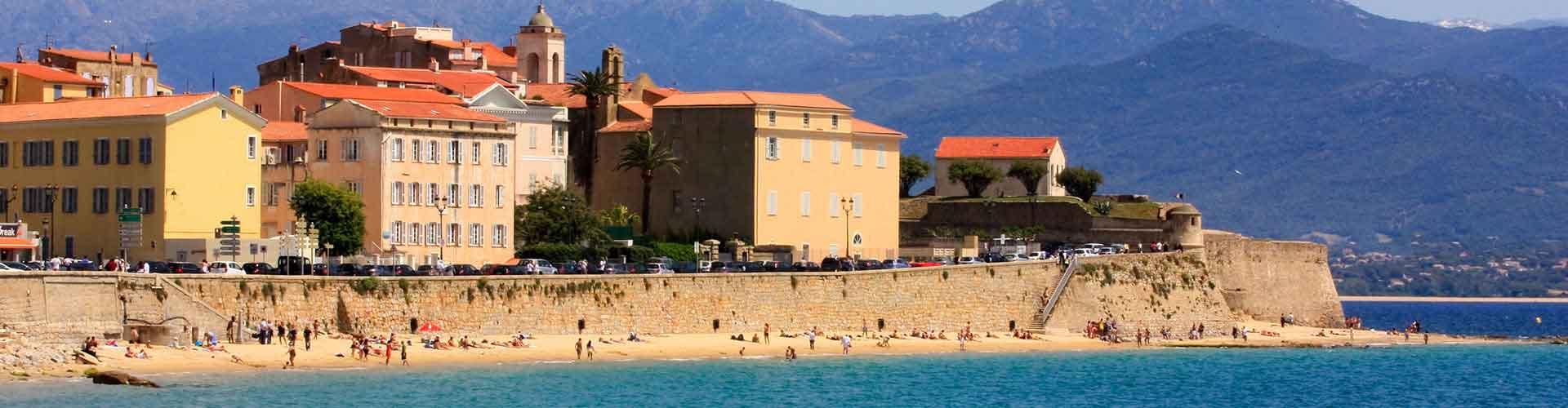 Ajaccio - Hostales en Ajaccio. Mapas de Ajaccio, Fotos y comentarios de cada Hostal en Ajaccio.
