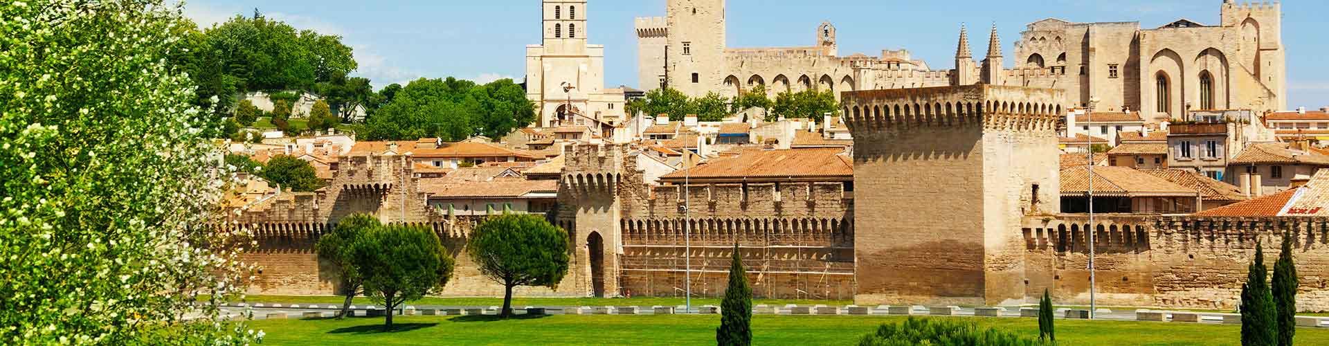Avignon - Hostales en Avignon. Mapas de Avignon, Fotos y comentarios de cada Hostal en Avignon.