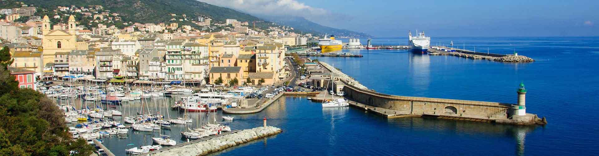 Bastia - Hoteles baratos en Bastia. Mapas de Bastia, Fotos y comentarios de cada Hotel en Bastia.