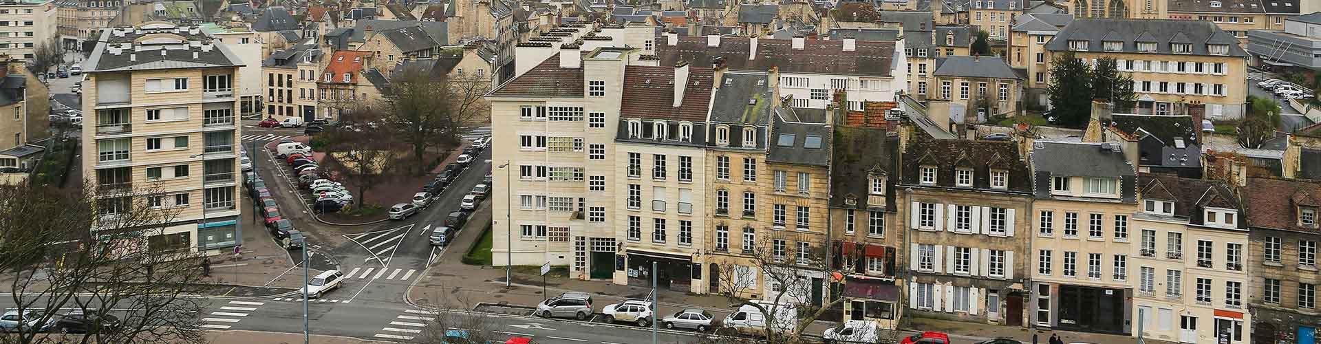Caen - Hoteles baratos en Caen. Mapas de Caen, Fotos y comentarios de cada Hotel en Caen.