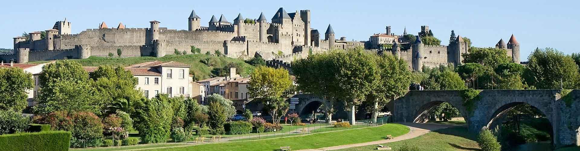 Carcassonne - Campamentos en Carcassonne. Mapas de Carcassonne, Fotos y comentarios de cada Campamento en Carcassonne.