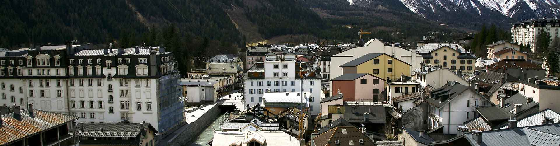 Chamonix - Hostales en Chamonix. Mapas de Chamonix, Fotos y comentarios de cada Hostal en Chamonix.