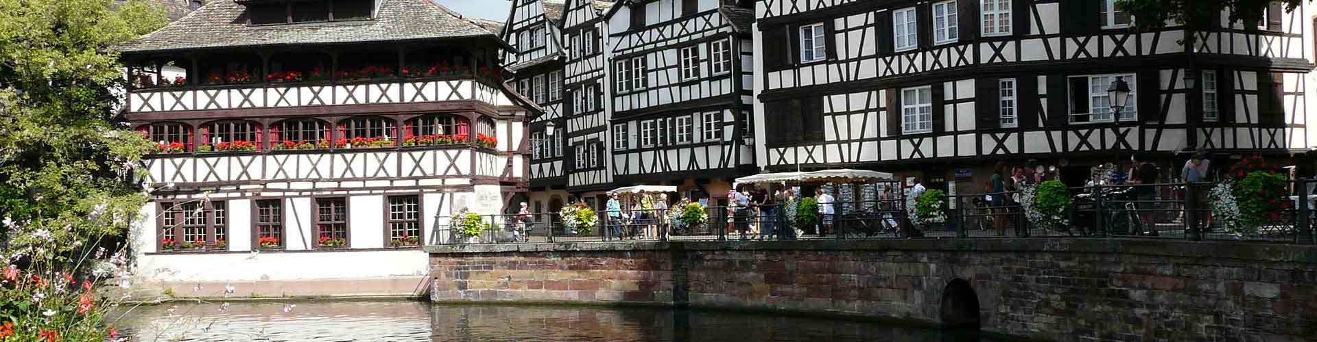 Estrasburgo - Hostales en el distrito Distritos Centrales. Mapas de Estrasburgo, Fotos y comentarios de cada Hostal en Estrasburgo.