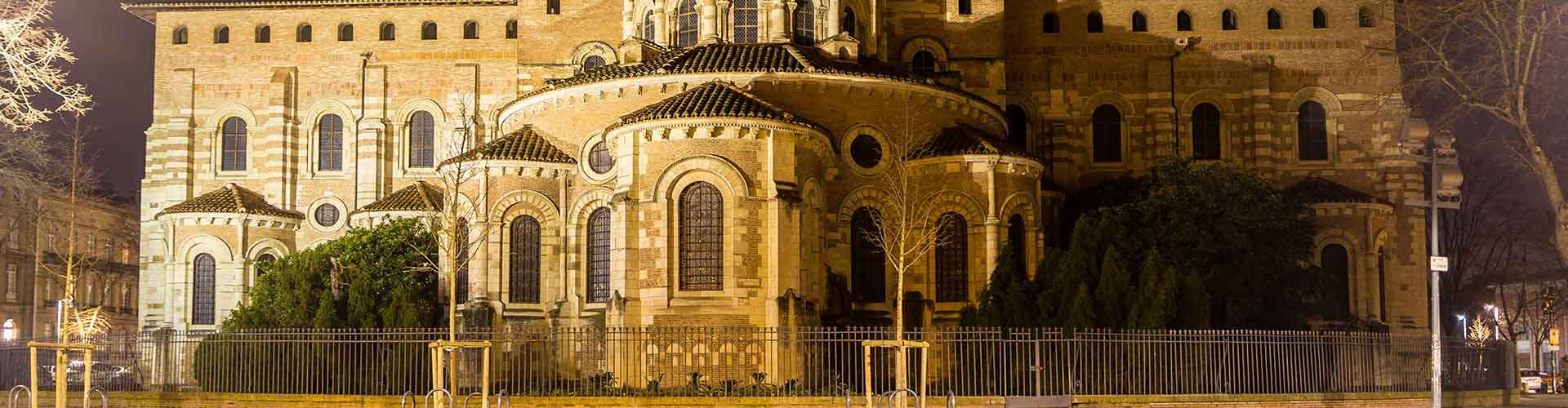 Toulouse - Hostales en el distrito Saint-Sernin. Mapas de Toulouse, Fotos y comentarios de cada Hostal en Toulouse.