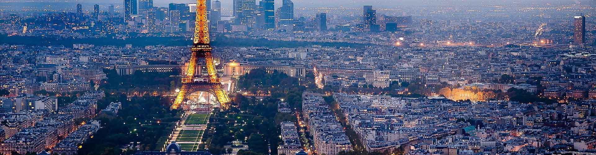 París - Habitaciones cerca a City Center. Mapas de París, Fotos y comentarios de cada Habitación en París.