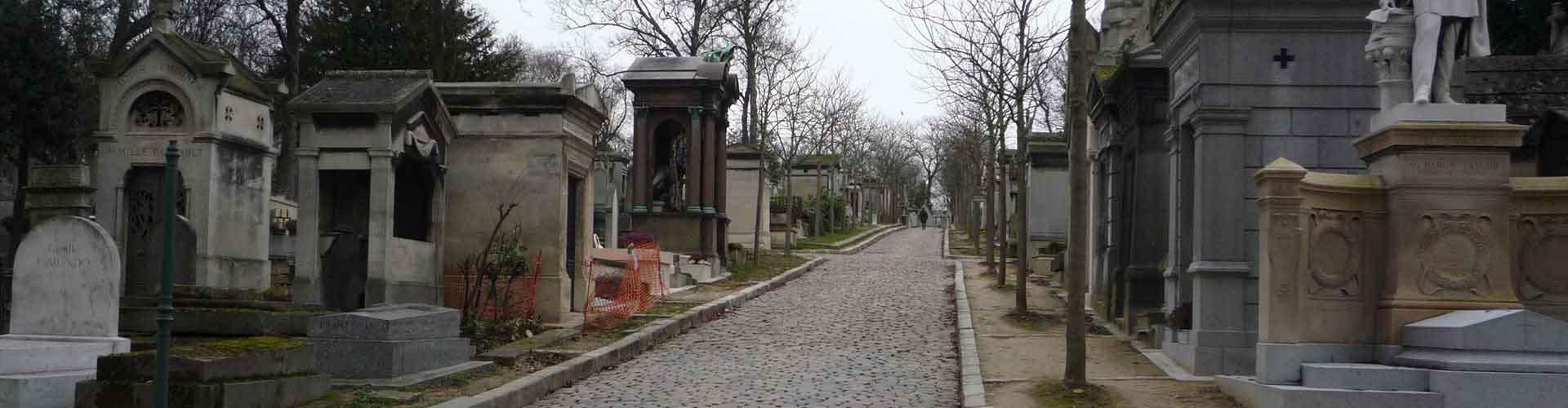 París - Hostales cerca a Cementerio de Père Lachaise. Mapas de París, Fotos y comentarios de cada Hostal en París.