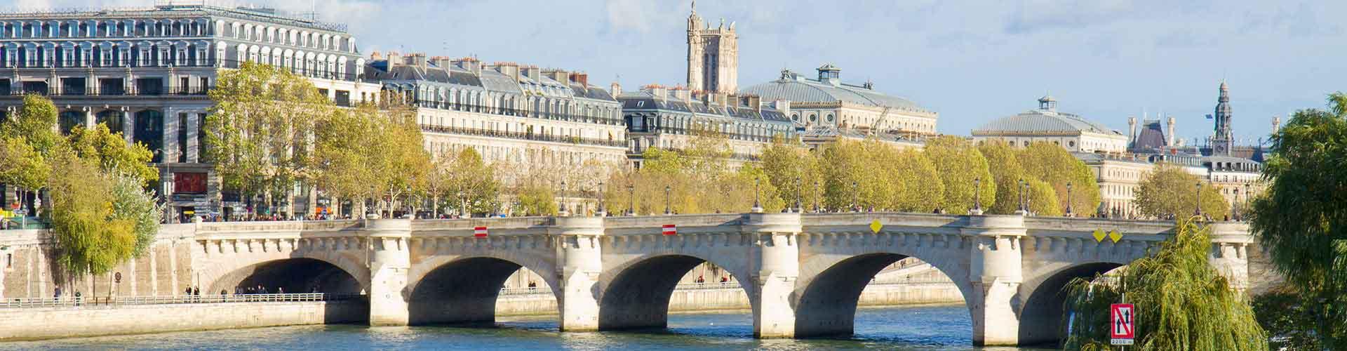 París - Campamentos cerca a Pont Neuf. Mapas de París, Fotos y comentarios de cada Campamento en París.