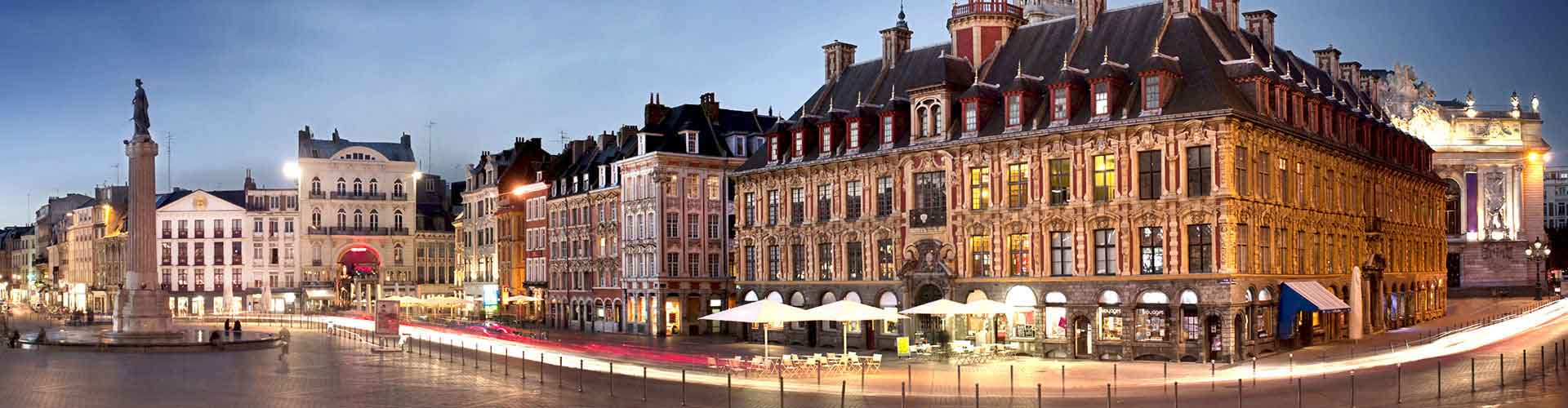 Lille - Habitaciones cerca a Estación de tren de Lille-Flandres. Mapas de Lille, Fotos y comentarios de cada Habitación en Lille.
