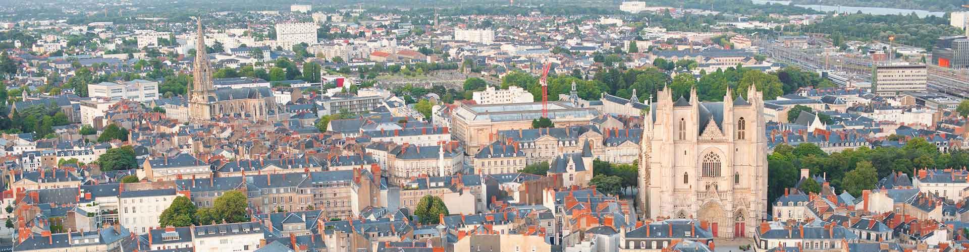 Nantes - Hostales en el distrito Doulon - Bottière. Mapas de Nantes, Fotos y comentarios de cada Hostal en Nantes.