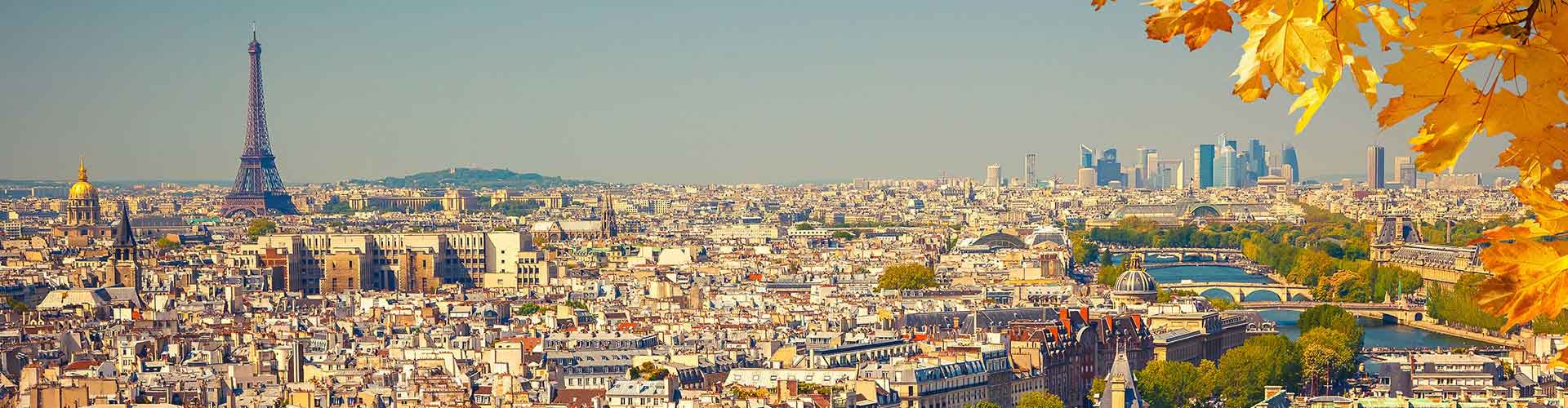 París - Hostales en el distrito Neuvième arrondissement. Mapas de París, Fotos y comentarios de cada Hostal en París.