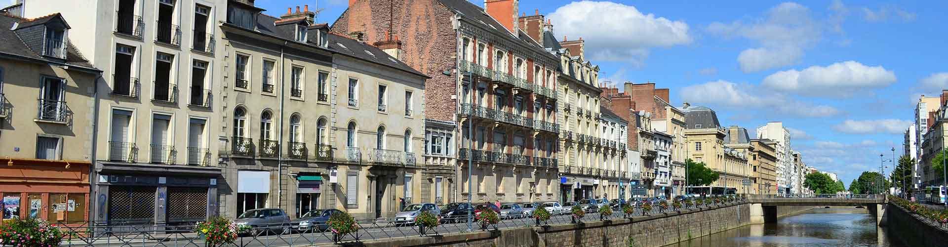 Rennes - Habitaciones en Rennes. Mapas de Rennes, Fotos y comentarios de cada Habitación en Rennes.