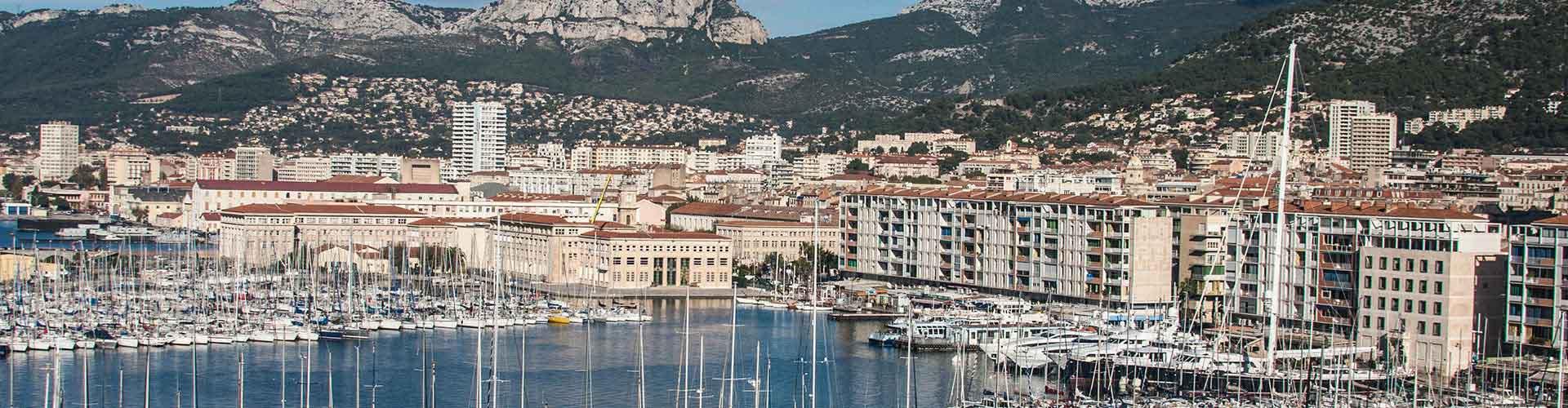 Toulon - Habitaciones en Toulon. Mapas de Toulon, Fotos y comentarios de cada Habitación en Toulon.