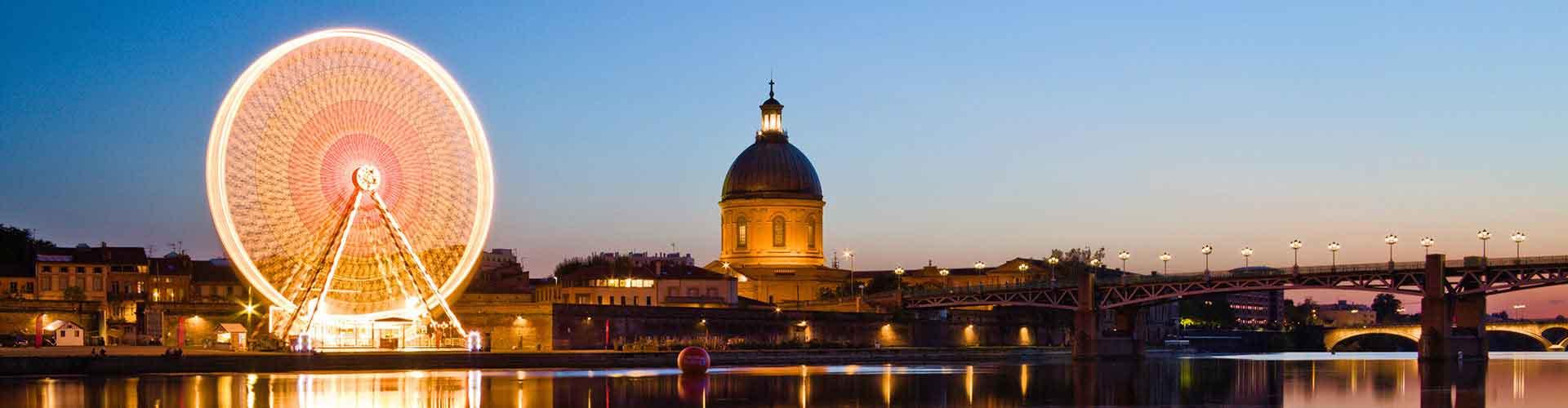 Toulouse - Hostales en el distrito Vieux Toulouse. Mapas de Toulouse, Fotos y comentarios de cada Hostal en Toulouse.