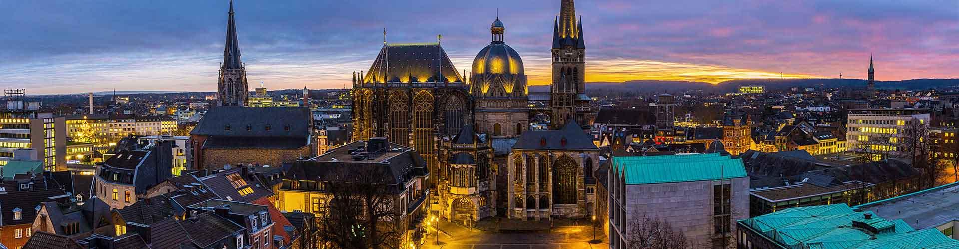 Aachen - Hoteles baratos en Aachen. Mapas de Aachen, Fotos y comentarios de cada Hotel en Aachen.
