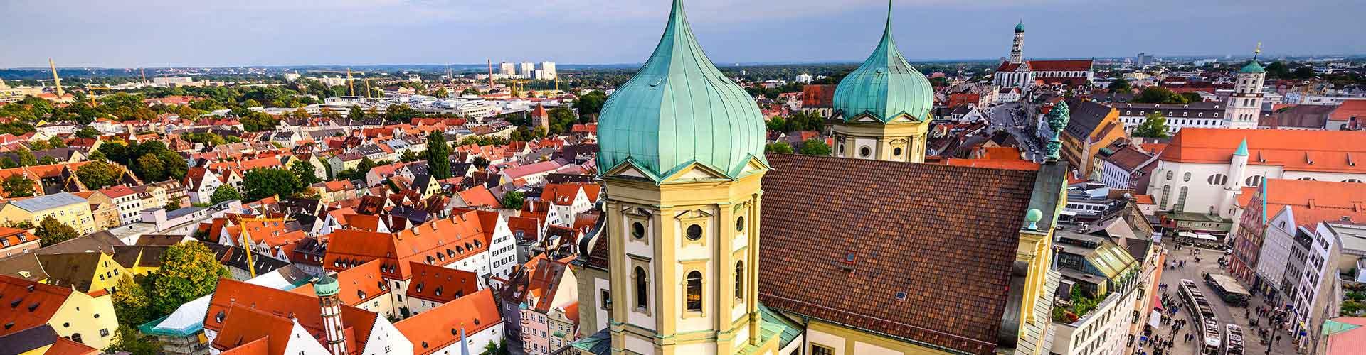 Augsburg - Apartamentos en Augsburg. Mapas de Augsburg, Fotos y comentarios de cada Apartamento en Augsburg.