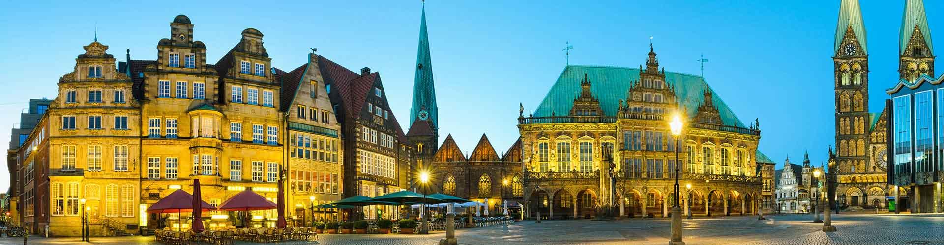 Bremen - Hostales en el distrito Centro. Mapas de Bremen, Fotos y comentarios de cada Hostal en Bremen.