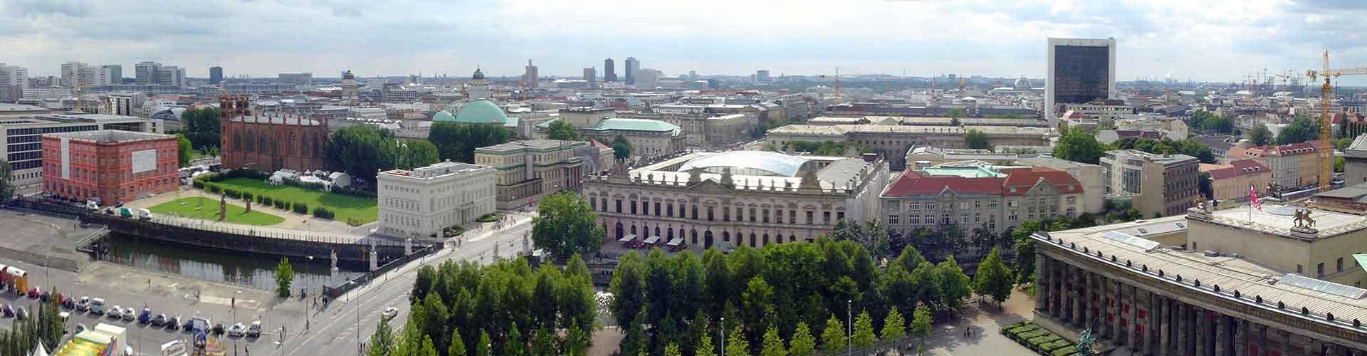 Berlín - Hostales en el distrito Mitte. Mapas de Berlín, Fotos y comentarios de cada Hostal en Berlín.