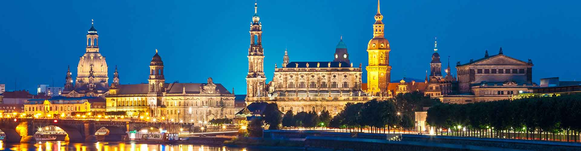 Dresde - Hostales en el distrito Neustadt. Mapas de Dresde, Fotos y comentarios de cada Hostal en Dresde.
