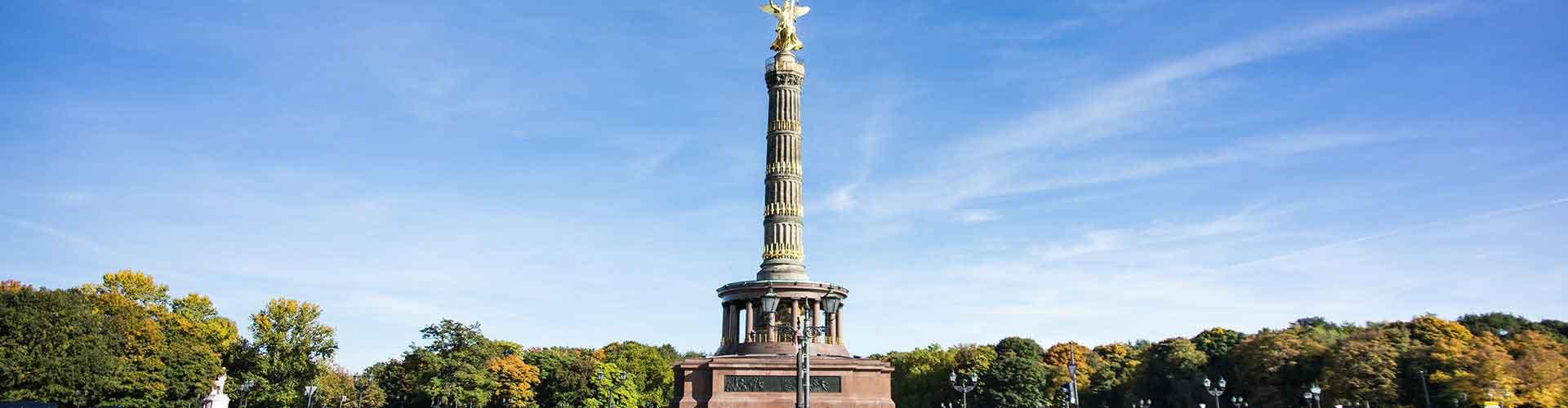 Berlín - Hostales cerca a Columna de la Victoria de Berlín. Mapas de Berlín, Fotos y comentarios de cada Hostal en Berlín.