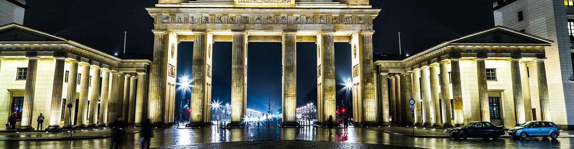 Berlín - Hoteles baratos cerca a Puerta de Brandenburgo. Mapas de Berlín, Fotos y comentarios de cada Hotel en Berlín.