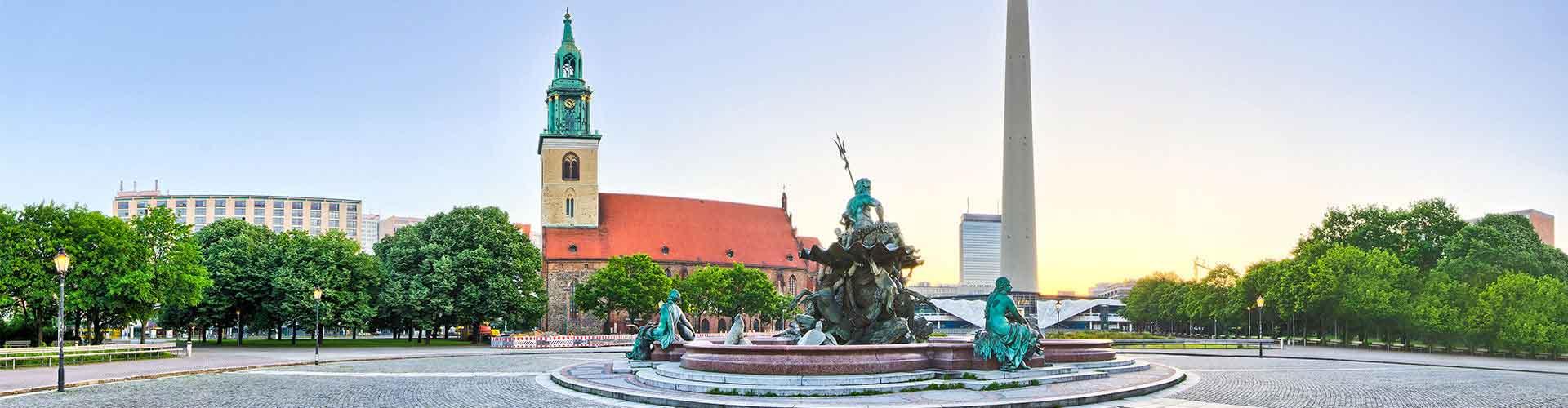 Berlín - Hostales cerca a Fernsehturm. Mapas de Berlín, Fotos y comentarios de cada Hostal en Berlín.