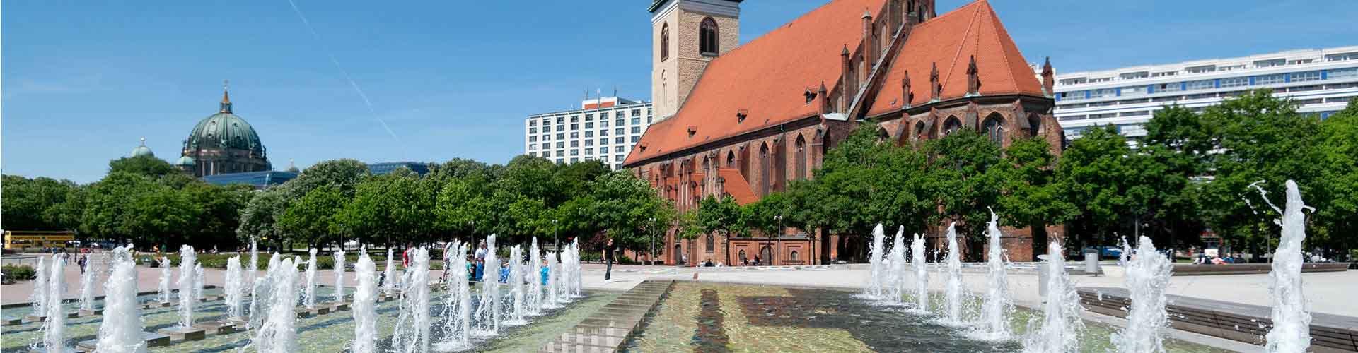 Berlín - Habitaciones cerca a Marienkirche. Mapas de Berlín, Fotos y comentarios de cada Habitación en Berlín.