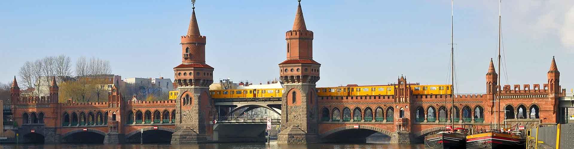 Berlín - Habitaciones cerca a Oberbaumbrücke. Mapas de Berlín, Fotos y comentarios de cada Habitación en Berlín.