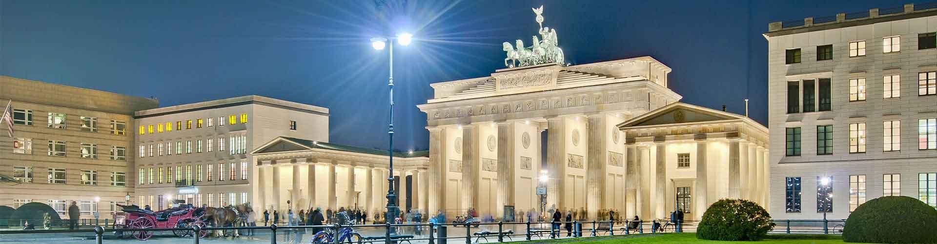 Berlín - Habitaciones cerca a Pariser Platz. Mapas de Berlín, Fotos y comentarios de cada Habitación en Berlín.