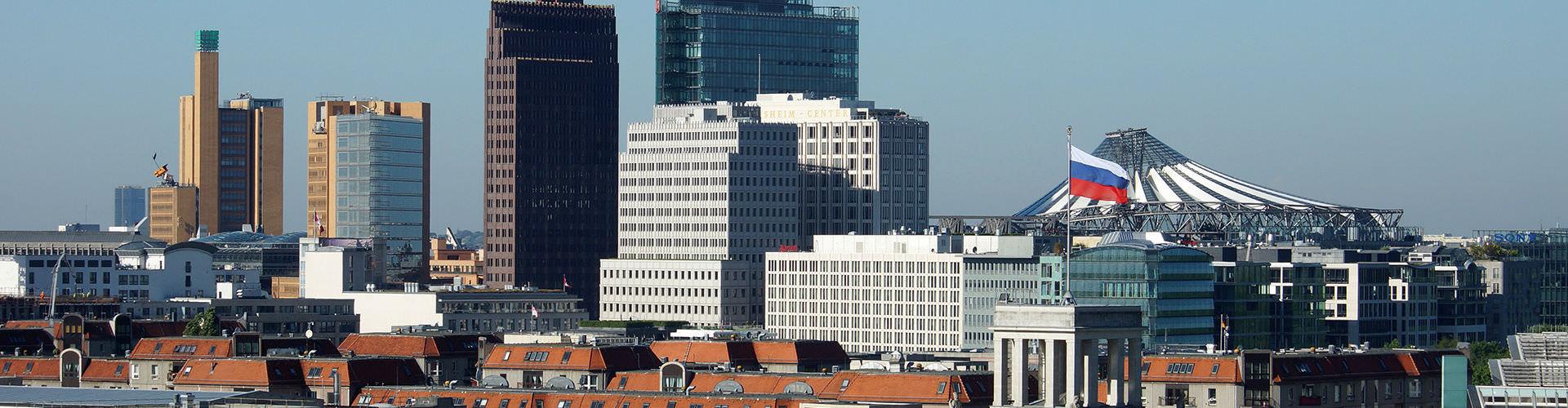Berlín - Hoteles baratos cerca a Potsdamer Platz. Mapas de Berlín, Fotos y comentarios de cada Hotel en Berlín.