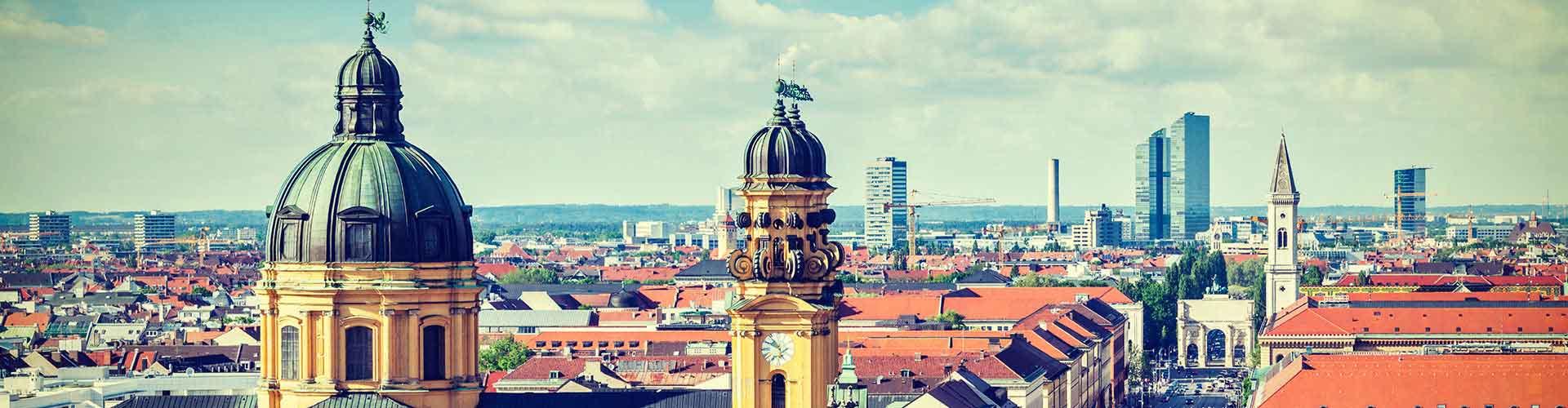 Munich - Hostales en el distrito Distrito 19. Mapas de Munich, Fotos y comentarios de cada hostal en Munich.