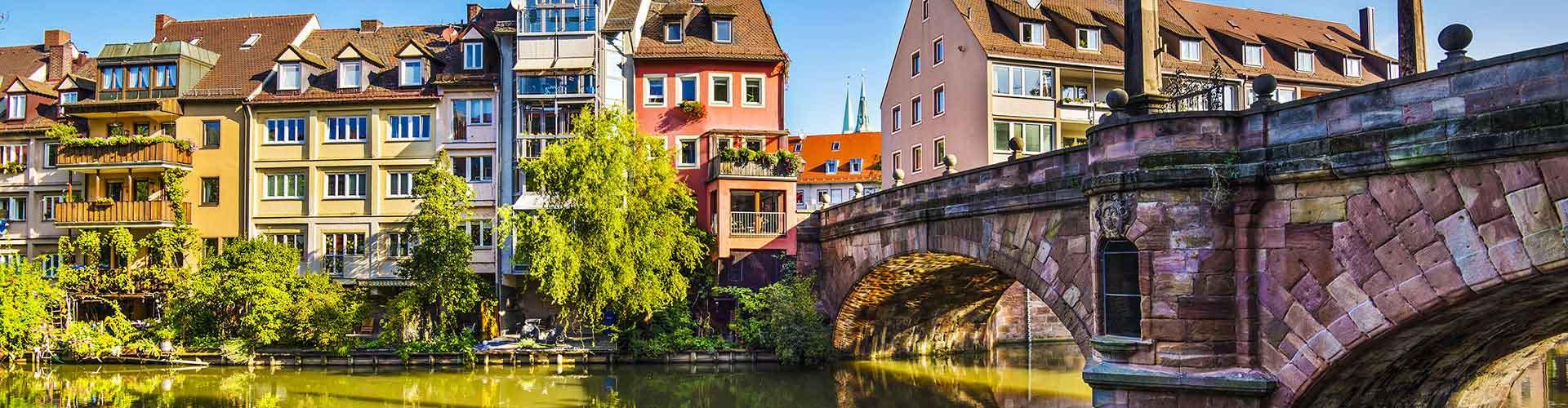 Nuremberg - Habitaciones en el distrito Marienvorstadt. Mapas de Nuremberg, Fotos y comentarios de cada Habitación en Nuremberg.