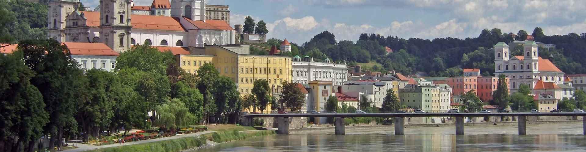 Passau - Hostales en Passau. Mapas de Passau, Fotos y comentarios de cada Hostal en Passau.