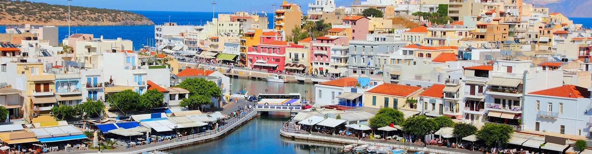 Isla de Creta - Campamentos en Isla de Creta. Mapas de Isla de Creta, Fotos y comentarios de cada Campamento en Isla de Creta.