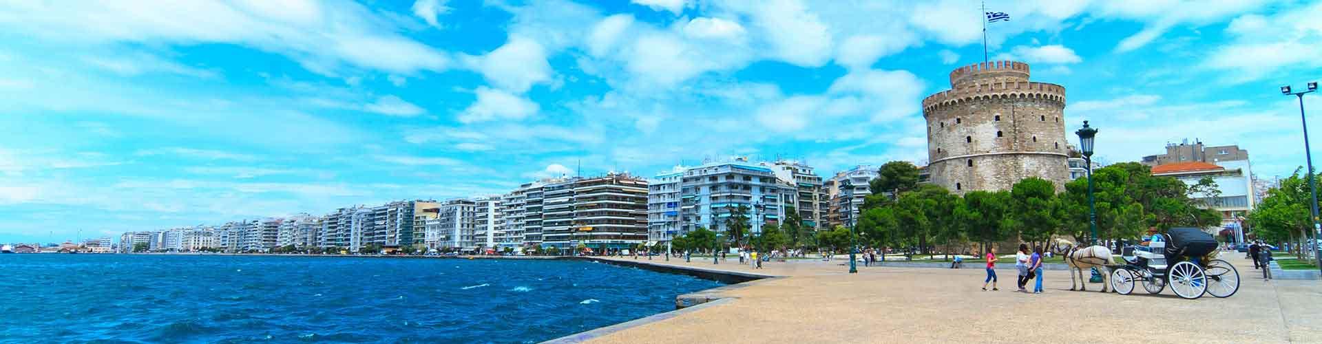 Salónica - Hoteles baratos en Salónica. Mapas de Salónica, Fotos y comentarios de cada Hotel en Salónica.