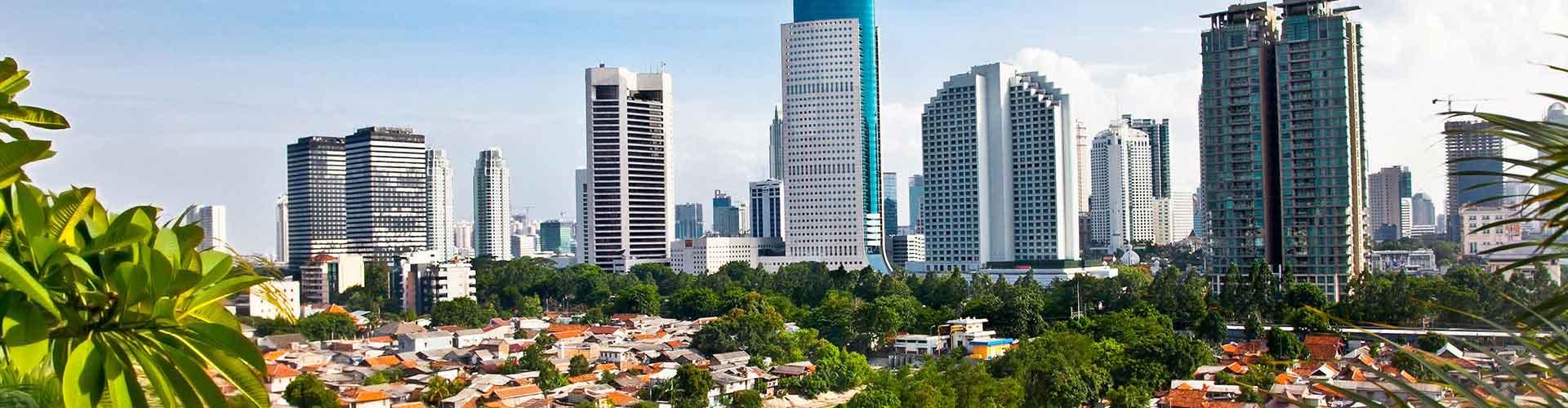 Yakarta - Habitaciones en Yakarta. Mapas de Yakarta, Fotos y comentarios de cada Habitación en Yakarta.
