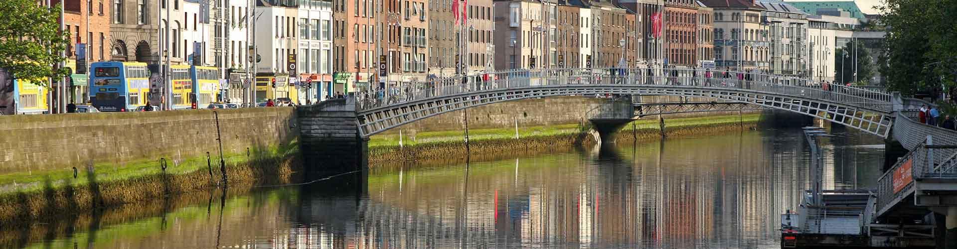 Dublín - Hostales en el distrito Centro de la ciudad. Mapas de Dublín, Fotos y comentarios de cada hostal en Dublín.