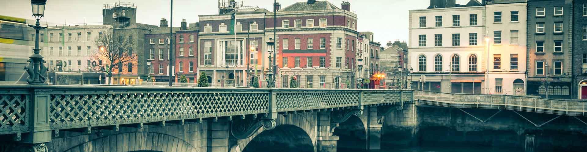Dublín - Hostales en el distrito Trinity. Mapas de Dublín, Fotos y comentarios de cada Hostal en Dublín.